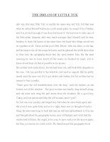 Tài liệu THE DREAM OF LITTLE TUK - truyện cổ Andersen pptx