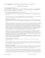 Tài liệu TOEFL Essay Writing Tips doc