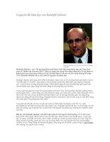 Tài liệu 6 nguyên tắc lãnh đạo của Rudolph Giuliani pptx