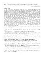 Bài soạn Kha nang lien tuong nghia cua tu hoa trong Truyen Kieu