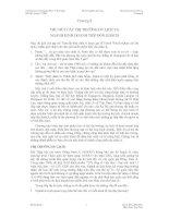 Chương 9 THU HÚT CÁC THỊ TRƯỜNG DU LỊCH VÀ NGÀNH KINH DOANH TIẾP ĐÓN KHÁCH