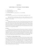Tài liệu Chương 1: Giới thiệu về tín hiệu và hệ thống pdf