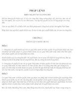 Tài liệu CHƯƠNG IV QUẢN LÝ NHÀ NƯỚC VỀ CÔNG TÁC GIẢI QUYẾT KHIẾU NẠI, TỐ CÁO pptx
