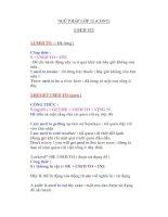 Tài liệu NGỮ PHÁP LỚP 12 (CONT) USED TO ppt