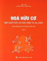 Tài liệu Hóa hữu cơ Tập 2 pdf