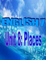 Gián án unit 8-places
