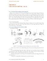 Tài liệu Giáo án kỷ thuật đo lường - Chương 5: CÁC CƠ CẤU CHỈ THỊ docx