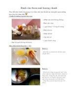 Tài liệu Bánh rán thơm mát hương chanh pdf