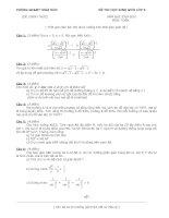 Bài soạn Đề ĐA thi HSG toán 9 tỉnh HD