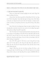 MỘT số NHẬN xét và ĐÁNH GIÁ CHUNG về tổ CHỨC kế TOÁN tại CÔNG TY IN CÔNG đoàn