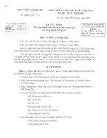 Tài liệu Quyết định về việc thành lập ban chỉ đạo quốc gia về công nghệ thông tin doc