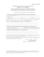 Tài liệu Đơn đề nghị gia hạn giấy phép doc