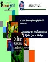 Tổng quan về Marketing thương mại điện tử