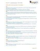 52 tuyen tap de thi dai hoc thuong mai ebook VCU bo de thuong mai dien tu can ban