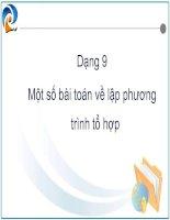 Bài soạn chuyen de to hop