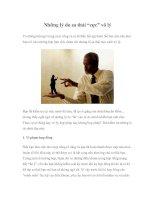 """Tài liệu Những lý do sa thải """"cực"""" vô lý pdf"""