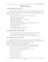 Tài liệu Giáo trình tin học đại cương - Phần 1 pdf