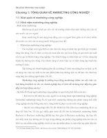 Tài liệu Chương 1: TỔNG QUAN VỀ MARKETING CÔNG NGHIỆP doc