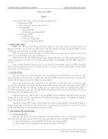 Tài liệu Môn học PHP ppt