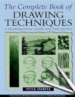 Tài liệu The Complete Book of drawing techniques - Vẽ kỹ thuật pdf