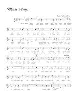 Tài liệu Bài hát mưa hồng - Trịnh Công Sơn (lời bài hát có nốt) pdf
