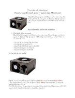 Tài liệu Tìm hiểu về Mainboad - Phân tích sơ đồ mạch quản lý nguồn trên Mainboard pdf