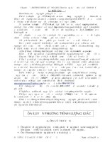 Tài liệu Chuyên đề : PHƯƠNG TRÌNH LƯỢNG GIÁC-Theo hướng ra đề thi của BỘ GIÁO docx