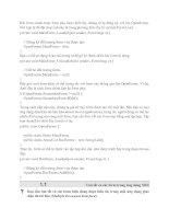 Tài liệu Windows Form Microsoft .NET Framework phần 2 pdf