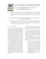 Tài liệu NGHIÊN CỨU THIẾT KẾ VÀ CHẾ TẠO THIẾT BỊ ĐO NHIỆT ĐỘ, ĐỘ ẨM VÀ ĐIỂM SƯƠNG THDP-1 SỬ DỤNG CÔNG NGHỆ PSoC pdf