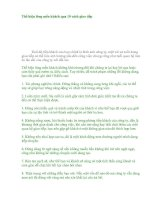 Tài liệu Thể hiện lòng mến khách qua 10 cách giao tiếp ppt