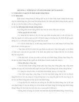 Tài liệu CHƯƠNG 1: TỔNG QUAN VỀ KINH DOANH CHỨNG KHOÁN ppt