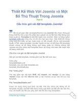 Tài liệu Thiết Kế Web Với Joomla part 8 ppt