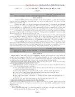 Tài liệu Tổng hợp câu hỏi ôn thi Lịch sử 2010 (Có đáp án) docx