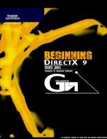Tài liệu Beginning DirectX 9 pdf
