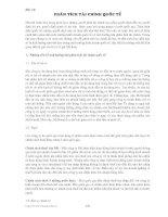 Tài liệu Bài 16: Phân tích tài chính quốc tế docx