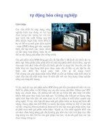 Tài liệu tự động hóa công nghiệp ppt