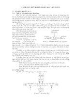 Tài liệu hệ thống cơ điện tử. CHƯƠNG 3 pdf