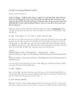 Tài liệu Cài đặt và sử dụng YUM trên Fedora docx