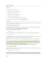Tài liệu Bài 17: Chuỗi - Lí thuyết ppt
