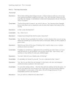 speaking sample task - part 3 transcript