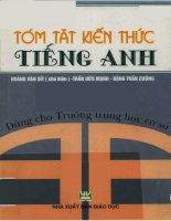 Tóm Tắt Kiến Thức Tiếng Anh - Hoàng Văn Sít & Trần Hữu Mạnh