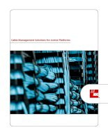 Tài liệu Cable Management Solutions for Active Platforms pdf