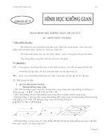 Tài liệu Ôn tập hình học không gian luyện thi pdf