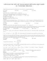 Bài giảng DE THI THU DAI HOC LAN 4