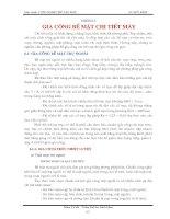 Tài liệu Giáo trình công nghệ chế tạo máy bay chương 6-2 docx