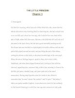 Tài liệu luyện đọc tiếng anh qua các tác phẩm văn học--THE LITTLE PRINCESS Chapter 3 doc
