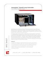 Tài liệu Soneplex® Quad Loop Extender Four-Position Remote Chassis docx