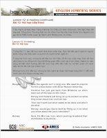 Tài liệu Bài 12: Hội họp (tiếp theo) ppt