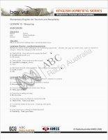 Tài liệu Tiếng Anh Du Lịch - Exercises 12 pdf