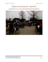 Tài liệu Một góc chợ xuân Nga Sơn - Thanh Hóa docx
